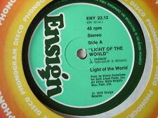 "Light of the World-Swingin' / Le monde est out - 12"" 1979-Disco Jazz-Funk"