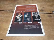 JOHNNY HALLYDAY - Plan média / Press kit !!! LONGBOX !!!