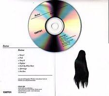 RESINA Resina 2016 UK 7-track promo test CD Fat Cat