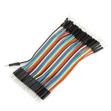 40Pcs 10cm Male To Male Jumper Cable For Arduino