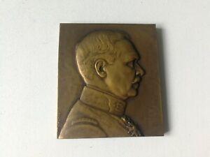 Médaille-Plaque en bronze du Docteur Albert Landri,signée Morlon-Ref GM02