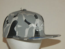 Adidas Originals Trefoil Plus Hat / Cap Snapback Flatbill CK1925 Grey / White