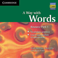 A Way with Words Resource Pack 1 Audio CD (Cambridge Copy Collection), Ellis, Ro