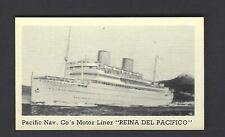 MURRAY - STEAM SHIPS - #13 REINA DEL PACIFICO