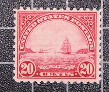 Scott 698 20 Cents Golden Gate OG MH Nice Stamp SCV $7.75