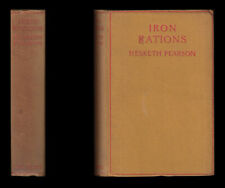 1928 Hesketh Pearson IRON RATIONS Army Service Corps MESOPOTAMIA First World War