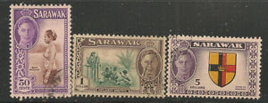 Sarawak Scott   191,  192,  194   Used