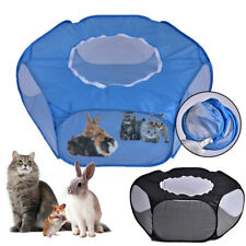Playpen Breathable  Waterproof Small Pet Cage Tent with Zippered Cover Portable