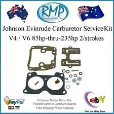 6A Brand New Carburetor Service Kit Johnson Evinrude 85hp-thru-235hp # 434888