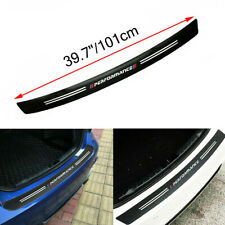 Carbon Fiber Rear Trunk Bumper Guard Accessories Sticker Trim For BMW X Series