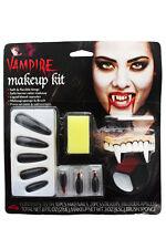 VAMPIRA Make-Up, ZANNE, unghie finte, SANGUE CAPSULE Vestito per Halloween
