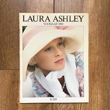 Laura Ashley catalogue 1985 spring voorjaar Dutch Nederlands