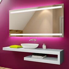 Illuminated LED Bathroom Mirror To Measure Custom Size L09