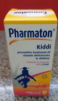 Kiddi Pharmaton Vitamins and Minerals with Lysine Syrup Thailand 100 ml.