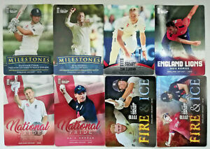 England Cricket 2018 ECB trading cards Tap n play SILVER FOIL & insert sets