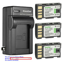 Kastar Battery Wall Charger for JVC BN-VF808 BN-VF808U & JVC GZ-MS130 Camcorder