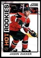 2012-13 Score Hot Rookies Jason Zucker #545