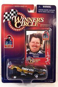 WINNER'S CIRCLE ~ JOHN FORCE ~ ELVIS PRESLEY - CASTROL GTX ~ 1998 MUSTANG ~ 1/64