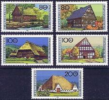 BRD 1996: Bauernhäuser II Wohlfahrtmarken Nr 1883-1887 postfrisch! 1812