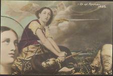 CARTE POSTALE JEANNE D' ARC