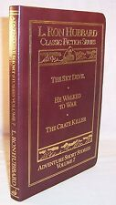 L. Ron Hubbard ADVENTURE SHORT STORIES 7 First Edition Leatherbound Mint