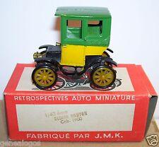 OLD ORIGINAL RAMI BY JMK DE DION BOUTON CAB CABRIOLET 1900 REF 5 BOX 1/43 1958 a