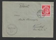 Nazi Germany Hitler 1940 Birthday Issue Franking Feldpost Hameln Infantry 348z69