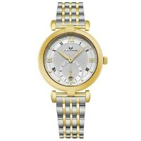 Alexander Women's Swiss Made Quartz Yellow Gold Tone Stainless Steel Dress Watch