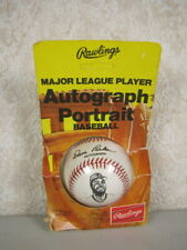 RARE 1970's Dave Parker Rawlings Autograph Portrait Baseball Vintage Haiti NEW