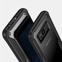 For Samsung Galaxy S8 S8 Plus Shockproof Rubber Bumper Case Slim Acrylic Cover