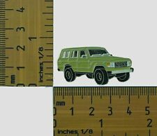 60 Series  Toyota Landcruiser Kaki Wagon  Lapel Pin / Badge