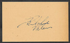 Ritchie Valens Autograph Reprint On Genuine Original Period 1950s 3x5 Card