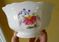 Antique Porridge Bowl Chelsea 19th C 1830s SPRIG Export Porcelain