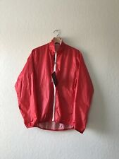 NWT HEAD PORTER PLUS Red / White Reversible Windbreaker Size M