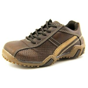 Boys Shoes Dark Brown Stride Rite Lace Shoes Truman  Little Boys Size 10 M