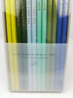 West Emory Life Coach quotes 12peice #2 Pencil Set- new