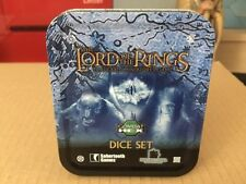 LOTR TMG Combat Hex Dice EMPTY Dice Tin  PLEASE NOTE THIS IS AN EMPTY TIN