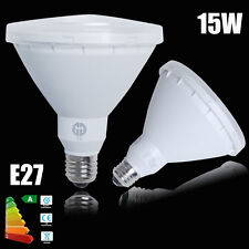 2x LED PAR38 Spotlight Globe Bulb 15W 240V E27 Warm White COB Spot Light Lamp