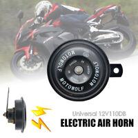 12V 110DB Universel Imperméable Voiture De Route Moto  Électrique Air klaxon 1X