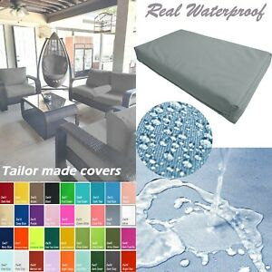 TAILOR MADE COVER*Patio Bench Cushion Waterproof Outdoor Swing Sofa Daybed Dw23