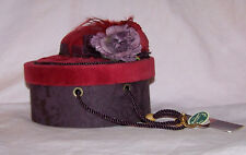 Bearington Collection Red Hat Box, Retired # 1853