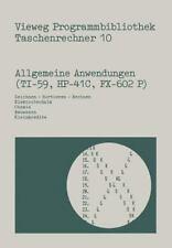 Vieweg Programmbibliothek Taschenrechner: Allgemeine Anwendungen (TI-59,...