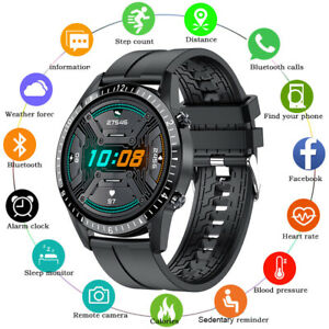 Sports Smart Watch Blood Oxygen Pressure Heart Rate Monitor Waterproof Wristband