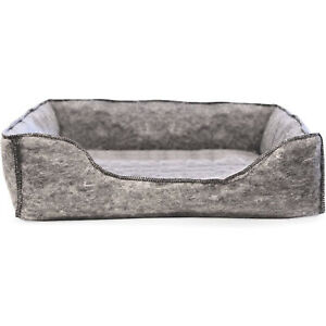 K&H Pet Products Amazin' Kitty Cat Lounge Sleeper Large Thermo Pet Bed, Gray