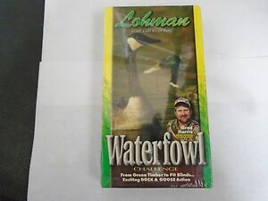 Waterfowl Challenge Brad Harris VHS 1998 Lohman Ducks Geese Hunting Instruction