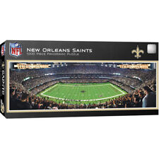 New Orleans Saints 1000 Piece Panoramic Puzzle MasterPieces Licensed Jigsaw NFL