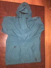 REI Women's Outdoor Hooded Full Zip Jacket Turquoise Size M
