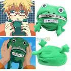 Naruto Frog Fluff Coin Purse Wallet New Cartoon Green Cute Cosplay Wallet C#P5