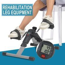 Foldable Under Desk Stationary Exercise Bike - Arm Leg Foot Pedal Gym Equipment