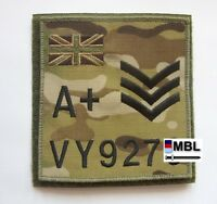 SUBDUED UNION JACK TRF LARGE ZAP BADGE MTP ADMIN PANEL BERGAN PTE to BRIG.